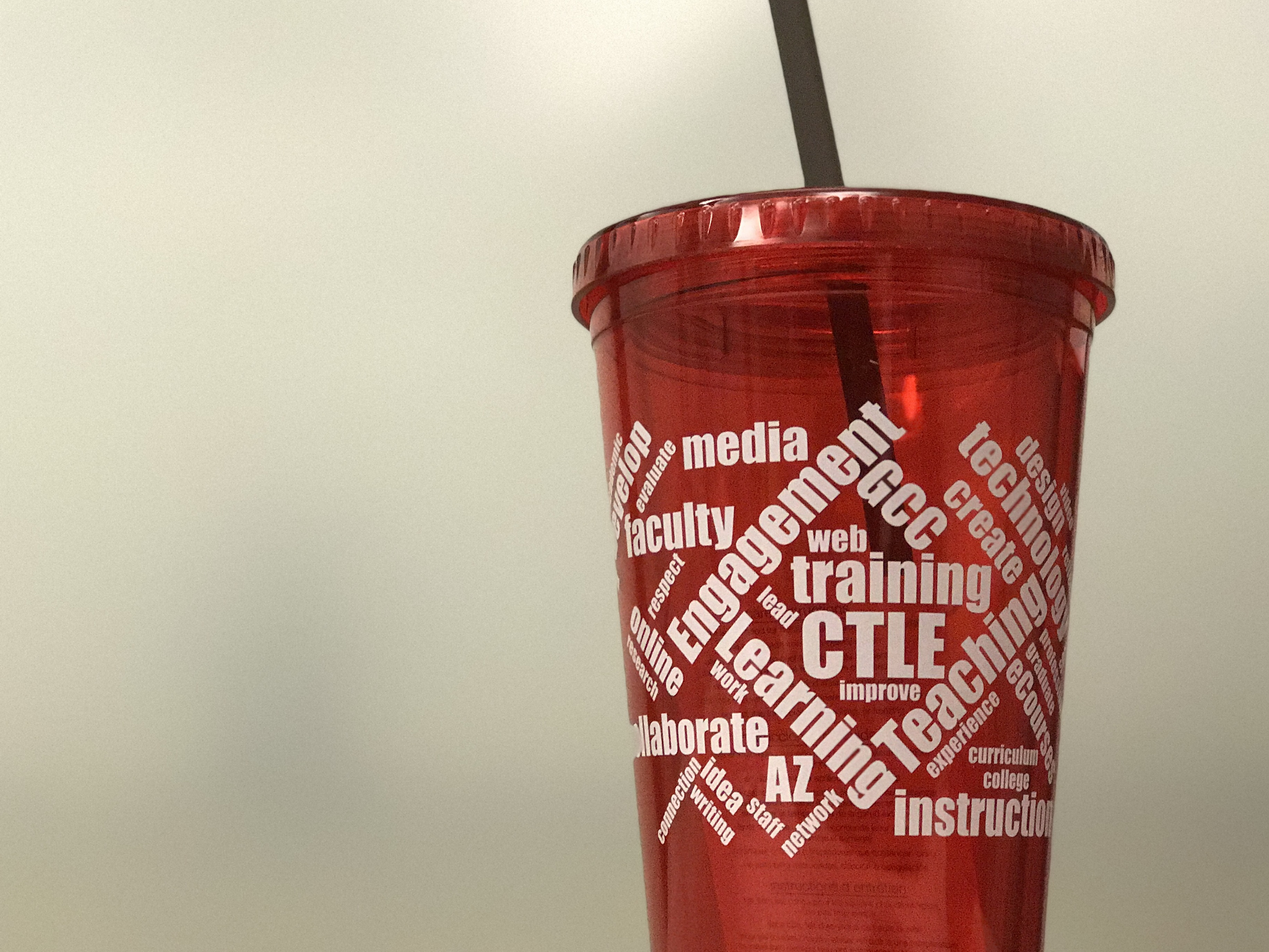 CTLE cup & straw